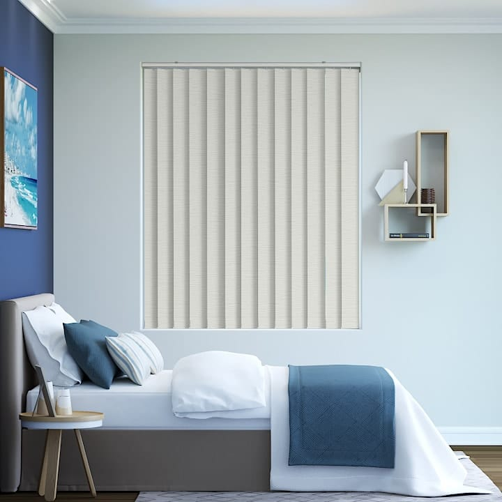 Pearl Monte Carlo Blockout Vertical Blinds