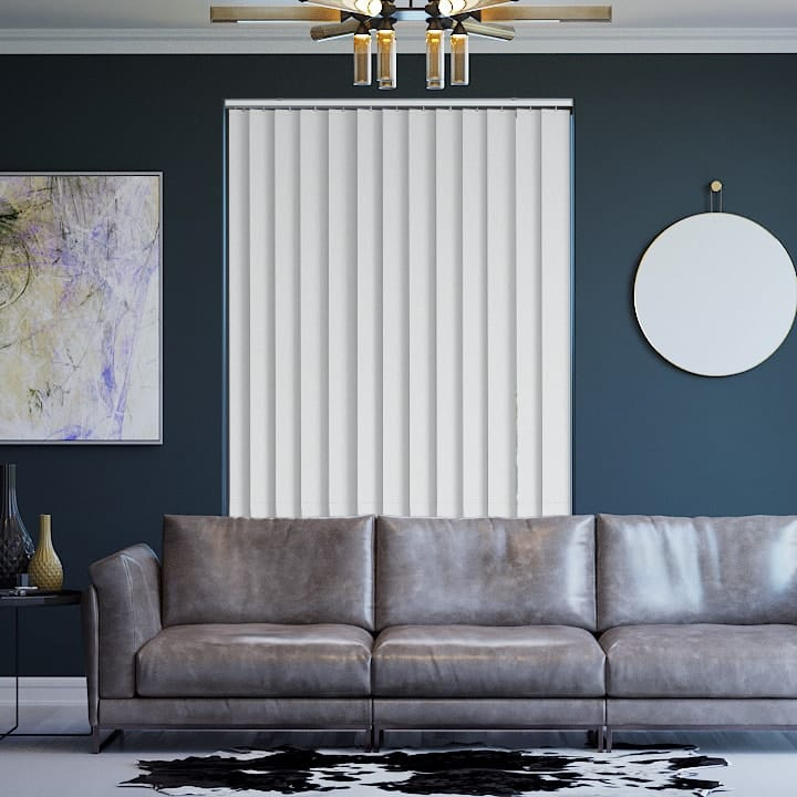 Alabaster Paris Blockout Vertical Blinds