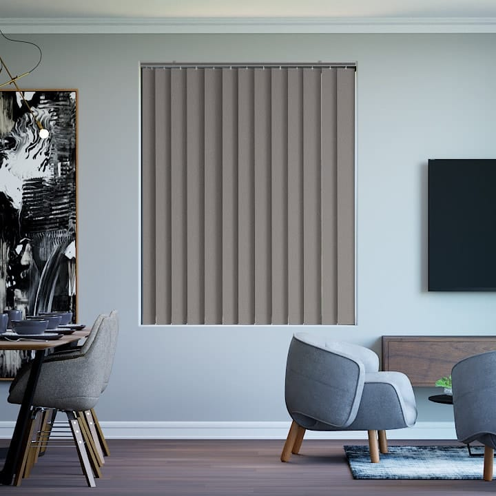 Masala Paris Blockout Vertical Blinds