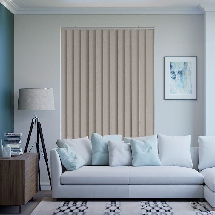 Pravada Paris Blockout Vertical Blinds