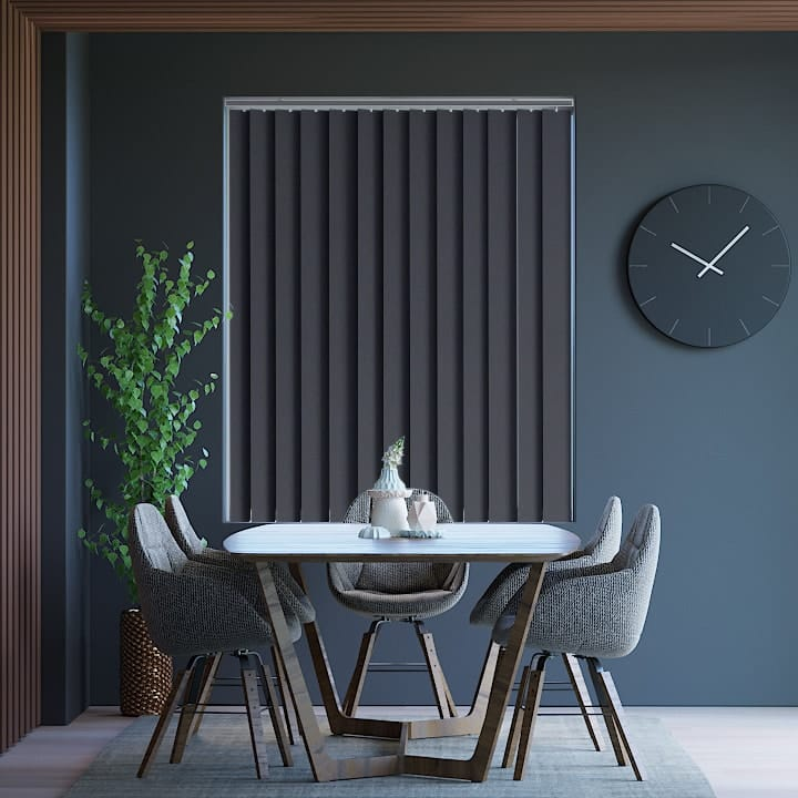Onyx Prime Blockout Vertical Blinds