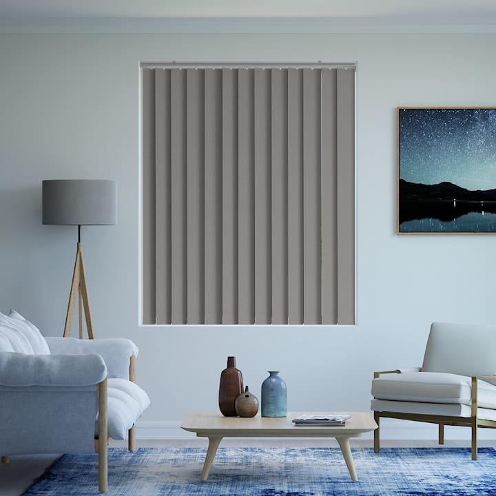 Peat Prime Blockout Vertical Blinds