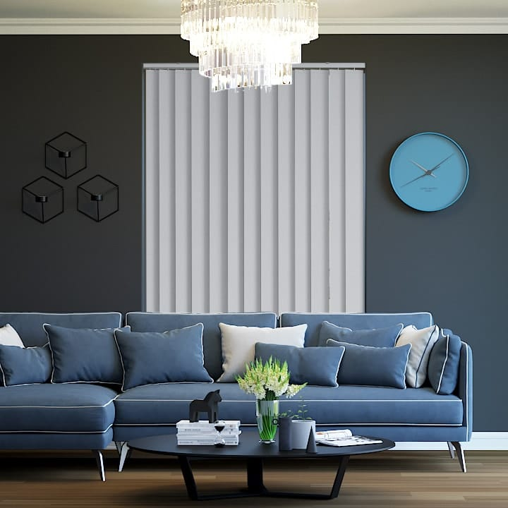 Buy St Clair Blockout Wedgewood Vertical Blinds Online