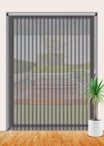 New Black Premium Collection Vertisheer Blinds