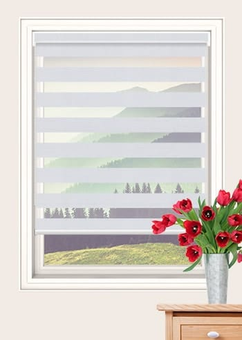 Bianco Primo Blockout Vision Blinds