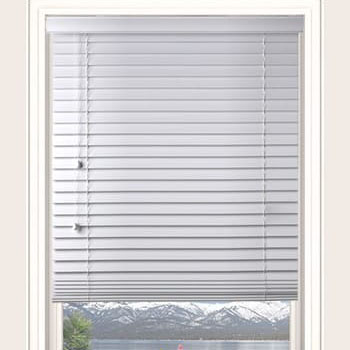 White Woodlux Shutter 63mm Woodlux Blinds